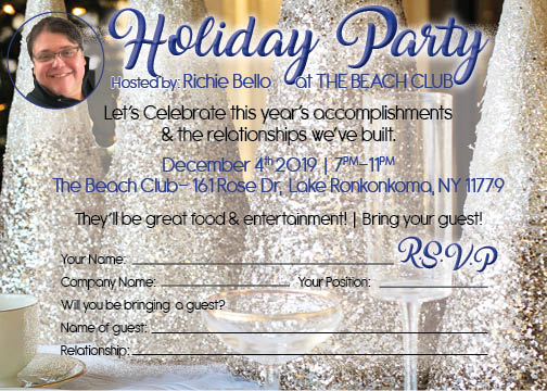 Richie Bello Holiday Party-Glitz